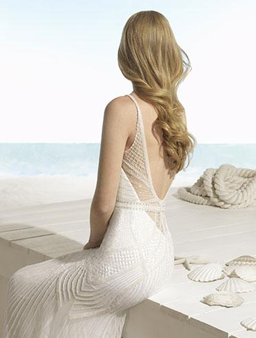 Robes de mariée : la collection Beach by Aire Barcelona