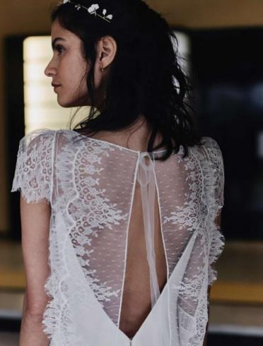 Robes de mariée : la collection 2018 renversante de Laure de Sagazan
